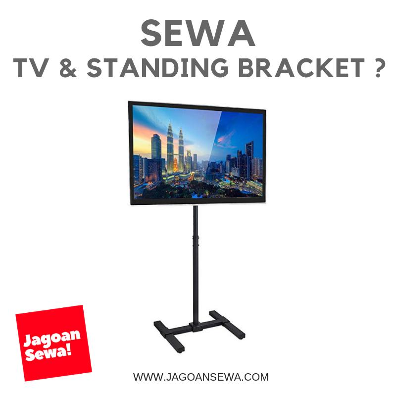 Sewa TV dan Standing Bracket Jakarta