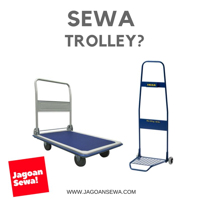 sewa trolley barang