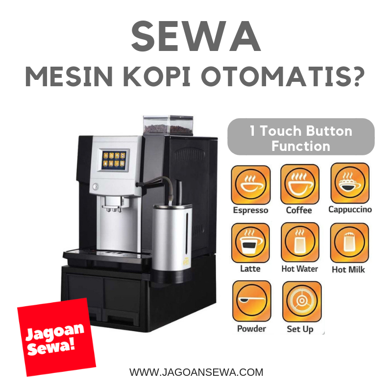 sewa mesin kopi coffee machine rental